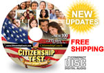 Citizenship test CD - English & Spanish